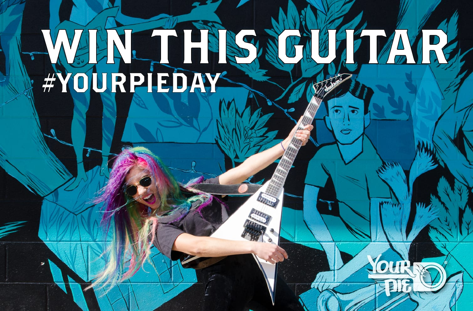 #YourPieDay: Win a Jackson Electric Guitar, $100 Your Pie gift card