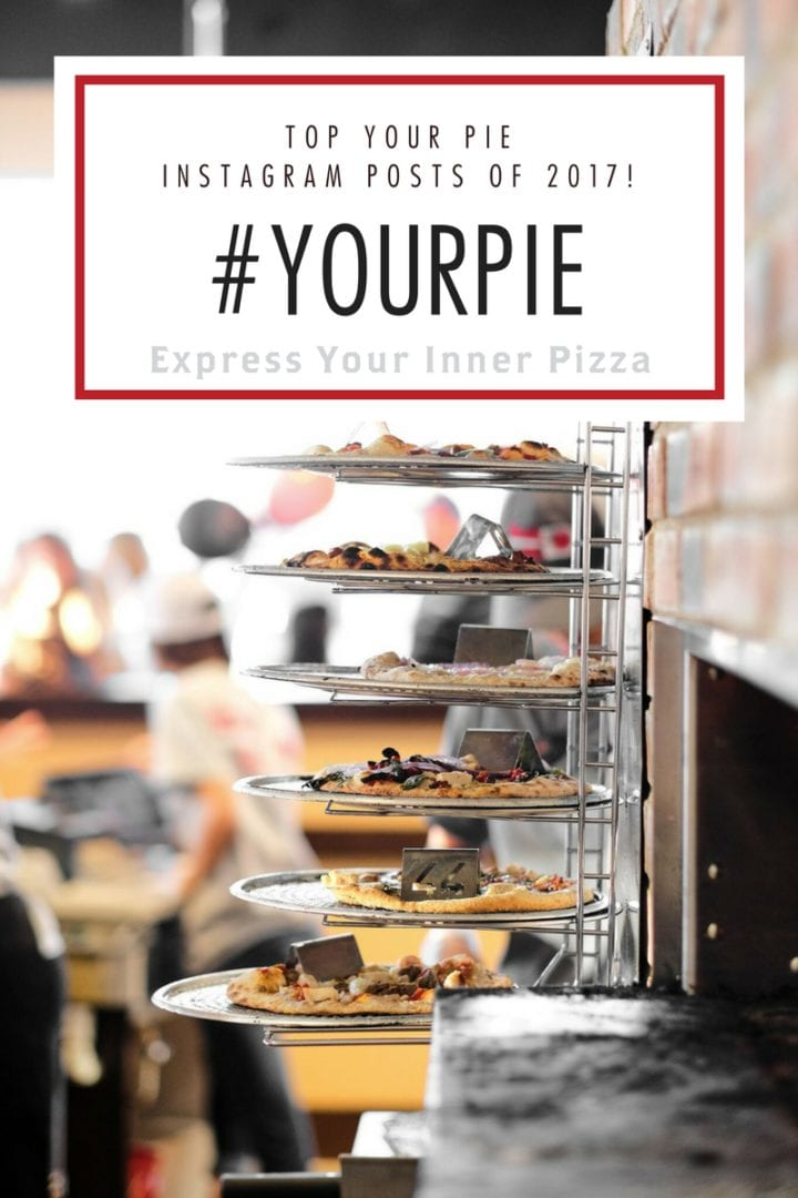 Top #YourPie Instagram posts of 2017 pizza blog foodies