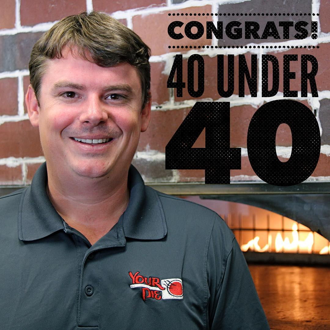 40 under 40 Awards: Your Pie Franchising's Drew French