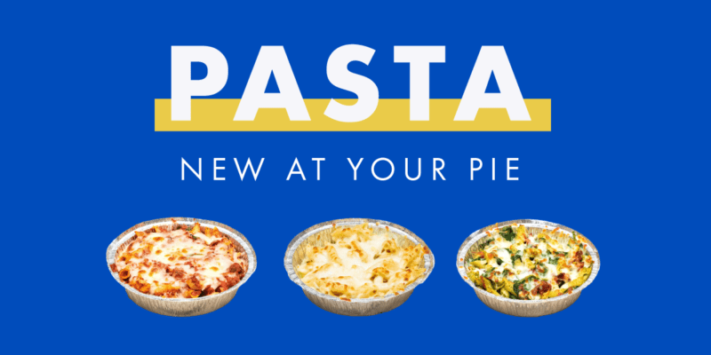 your pie baked pasta menu item