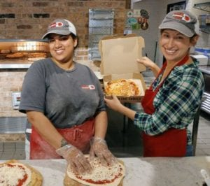Your Pie 1000 pizza giveback in dunwoody